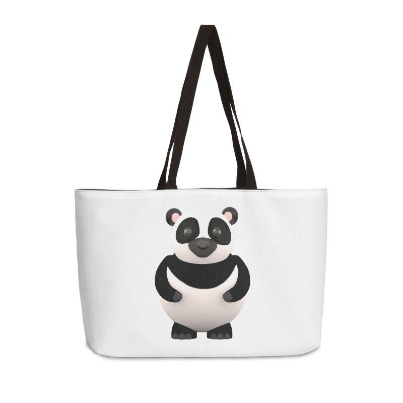 Cartoon Panda Accessories Weekender Bag Bag by Me&My3D