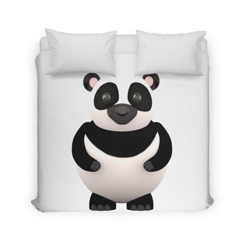 Cartoon Panda Home Duvet by Me&My3D