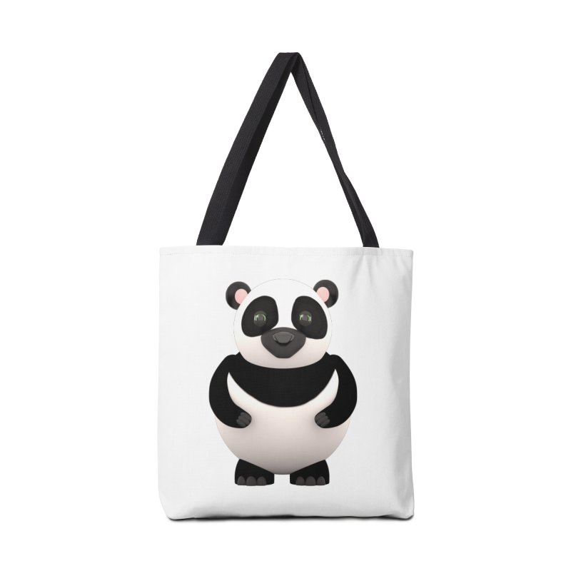 Cartoon Panda Accessories Bag by Me&My3D