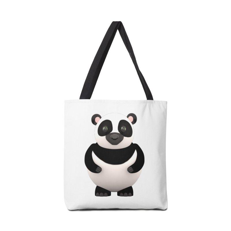 Cartoon Panda Accessories Tote Bag Bag by Me&My3D