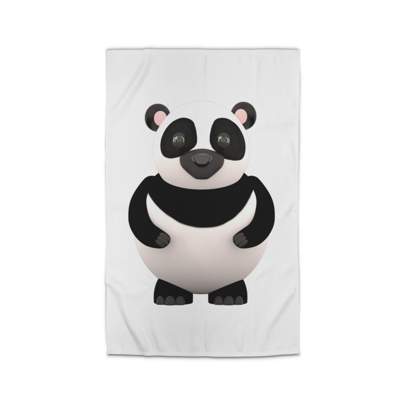 Cartoon Panda Home Rug by Me&My3D