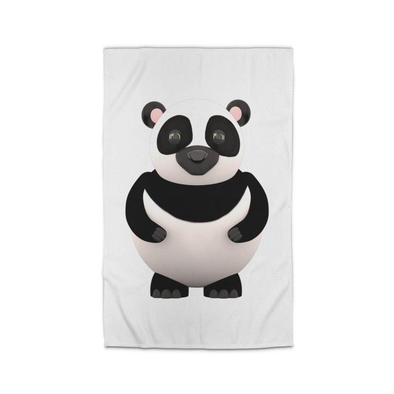Cartoon Panda Home Rug by Me&My3D