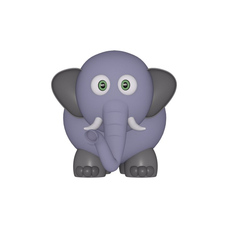 Elephant None  by Me&My3D