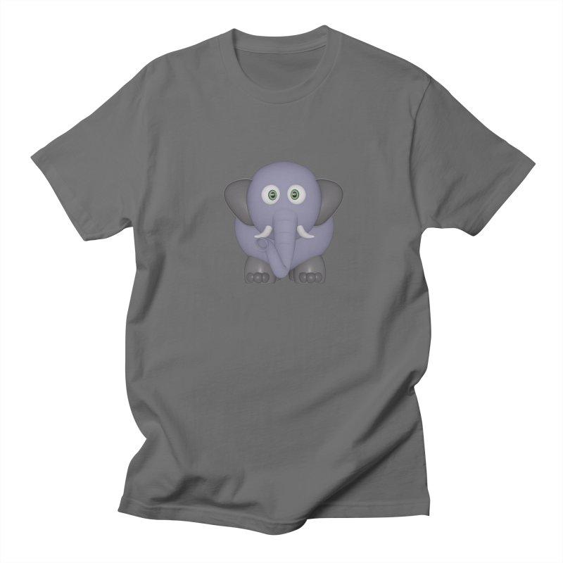 Elephant Men's T-Shirt by Me&My3D