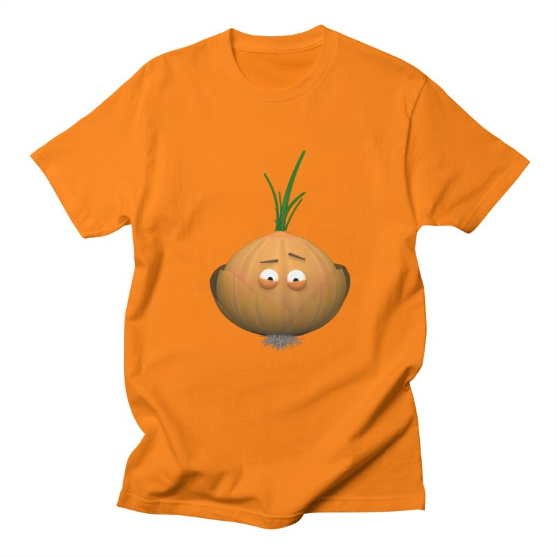 Mr. Onion Women's Regular Unisex T-Shirt by Me&My3D