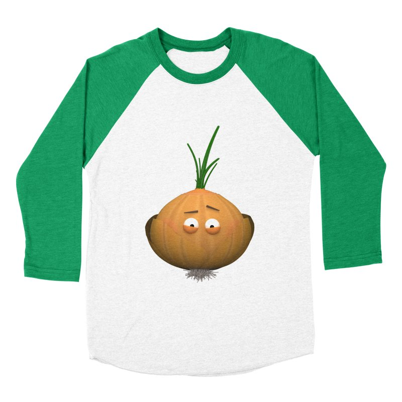 Mr. Onion Women's Baseball Triblend Longsleeve T-Shirt by Me&My3D