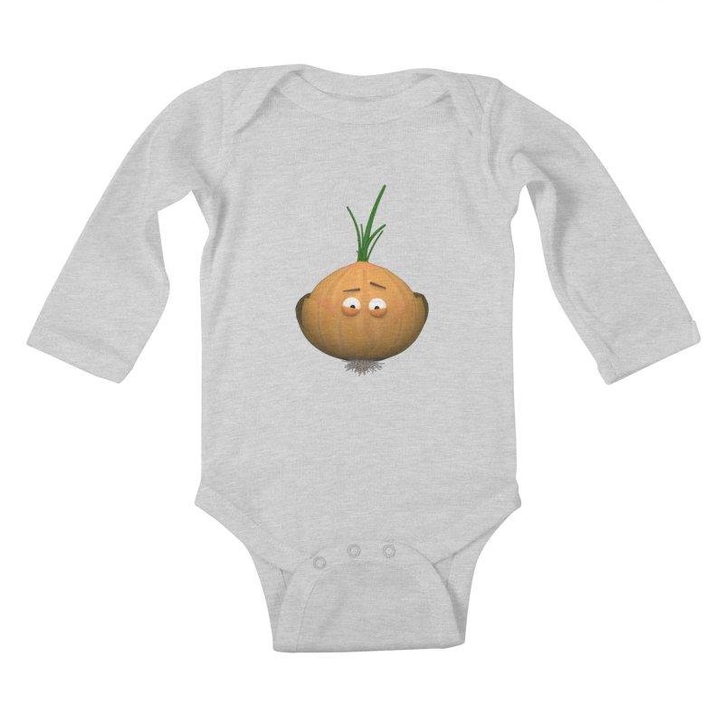 Mr. Onion Kids Baby Longsleeve Bodysuit by Me&My3D