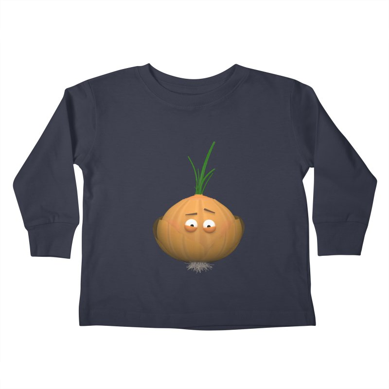 Mr. Onion Kids Toddler Longsleeve T-Shirt by Me&My3D