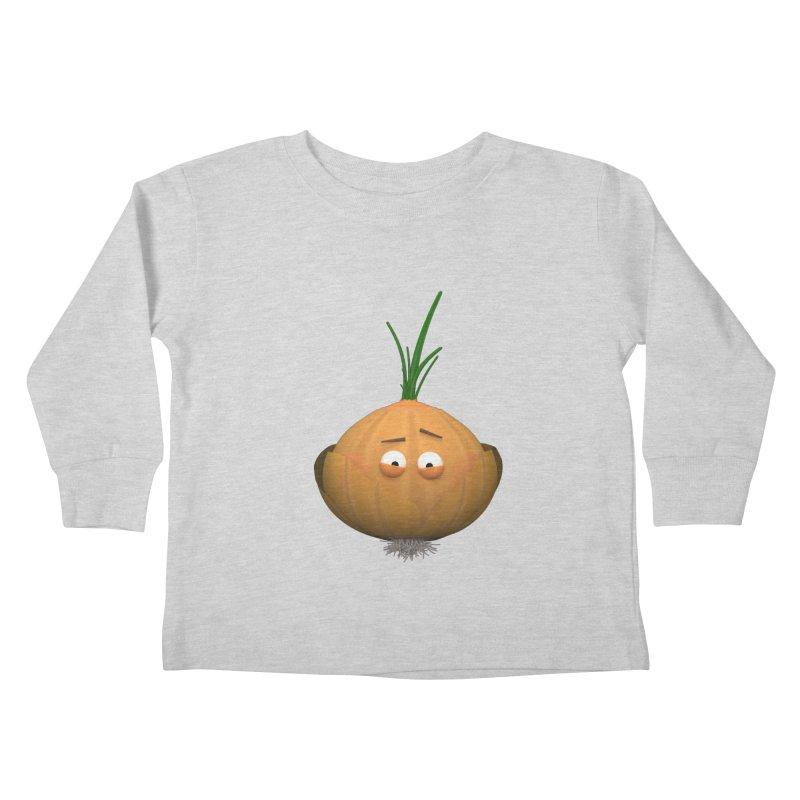 Mr. Onion Kids Toddler Longsleeve T-Shirt by Me&My3D