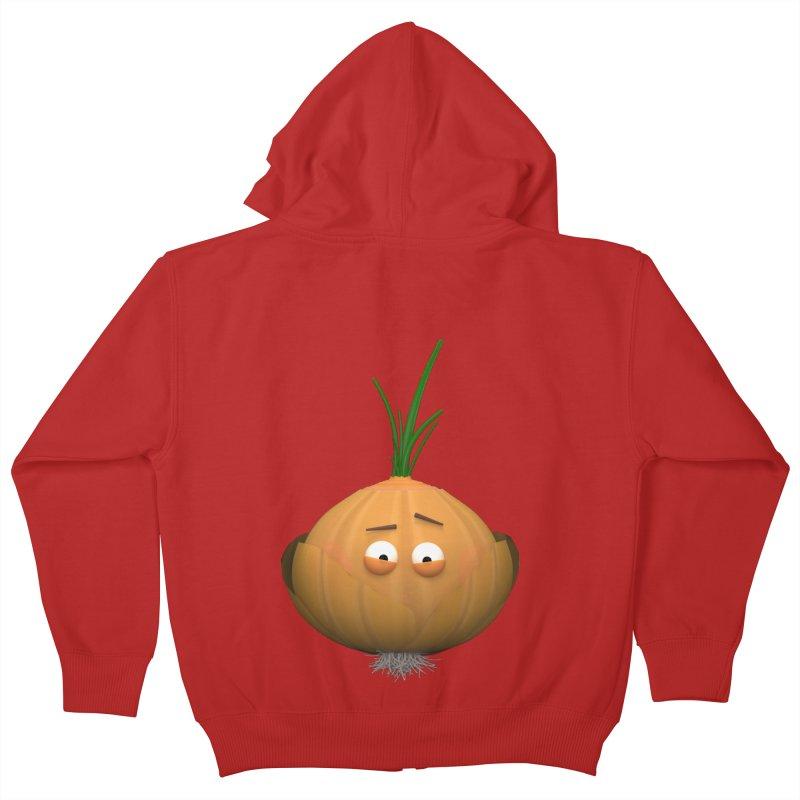 Mr. Onion Kids Zip-Up Hoody by Me&My3D