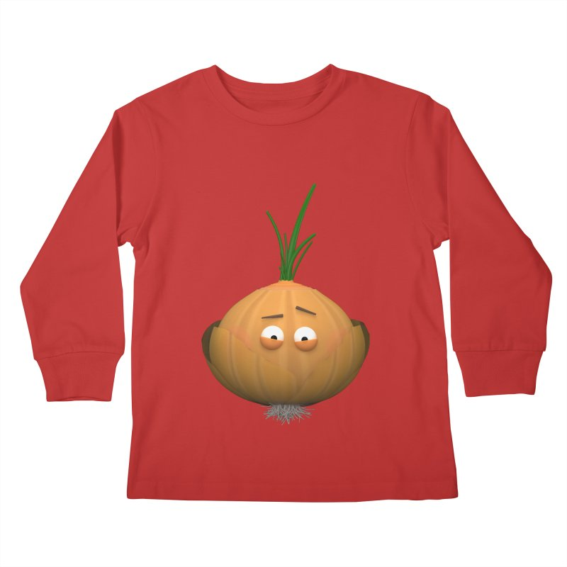 Mr. Onion Kids Longsleeve T-Shirt by Me&My3D
