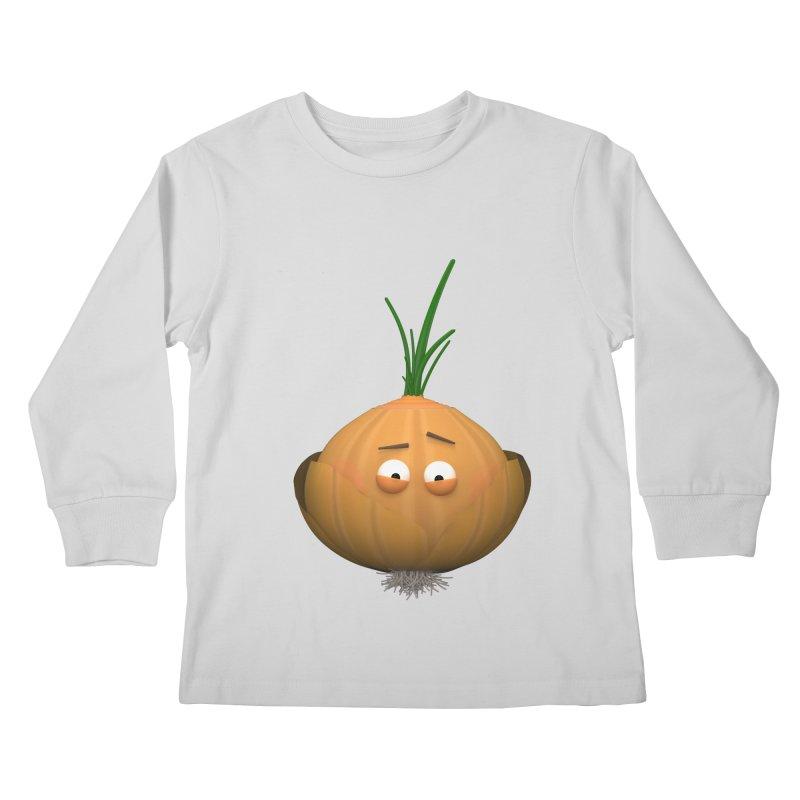 Mr. Onion Kids Longsleeve T-Shirt by Me&My3D