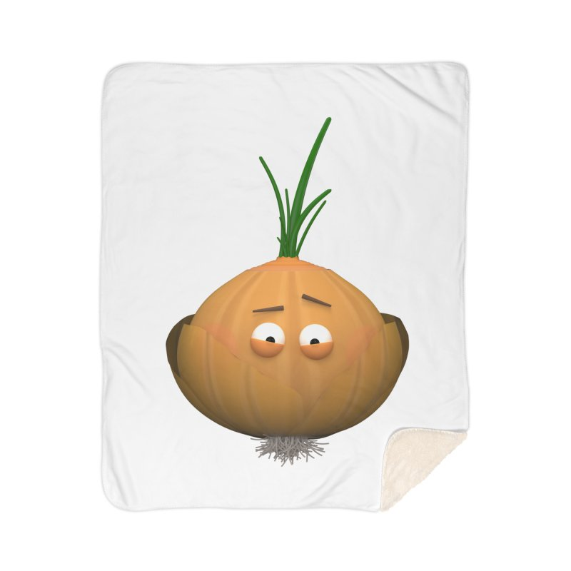 Mr. Onion Home Blanket by Me&My3D