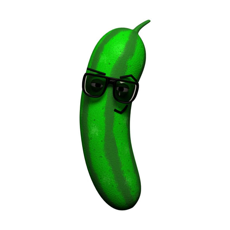 Mr. Pickle by Me&My3D