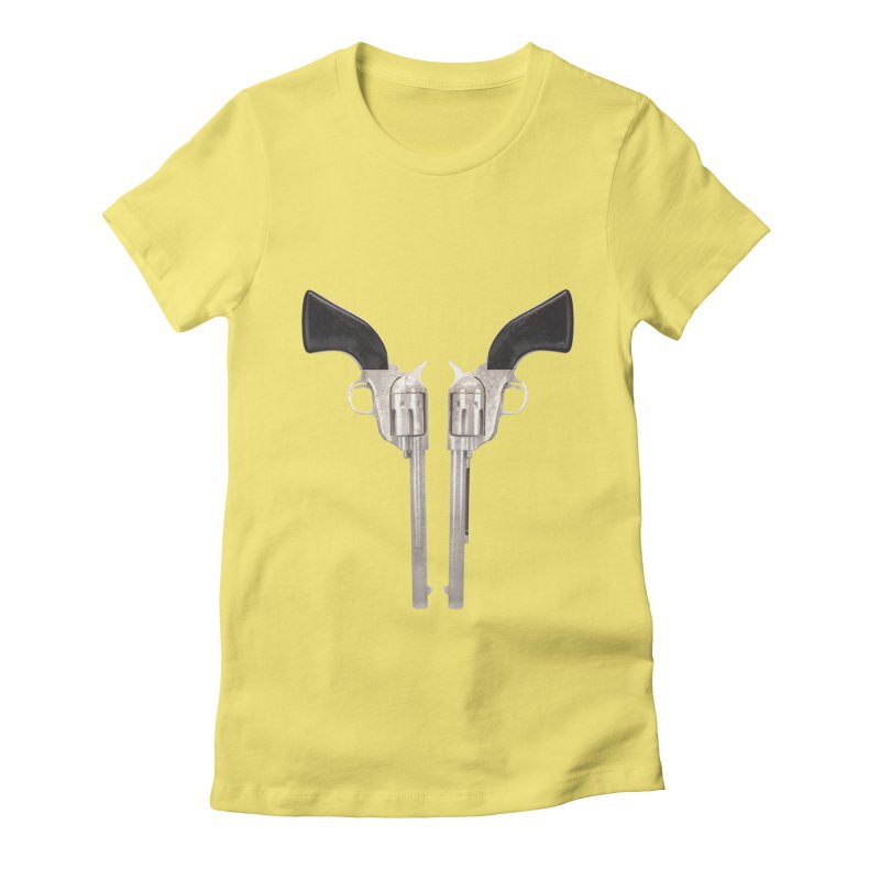 Sixshooter Women's Fitted T-Shirt by Me&My3D