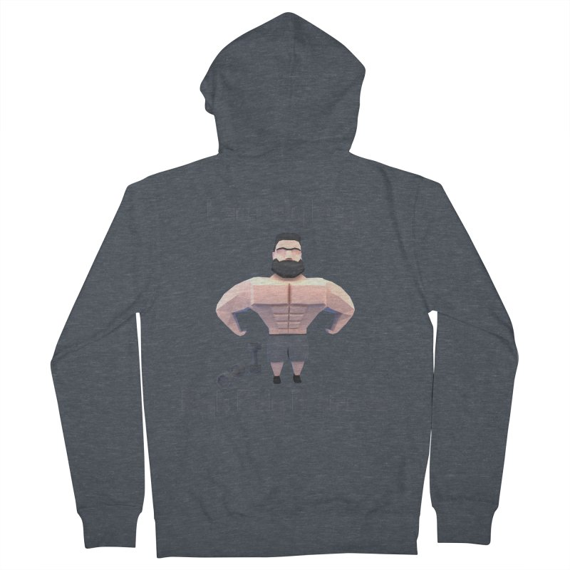 Low Poly Guy with High Poly Attitude Men's Zip-Up Hoody by Me&My3D