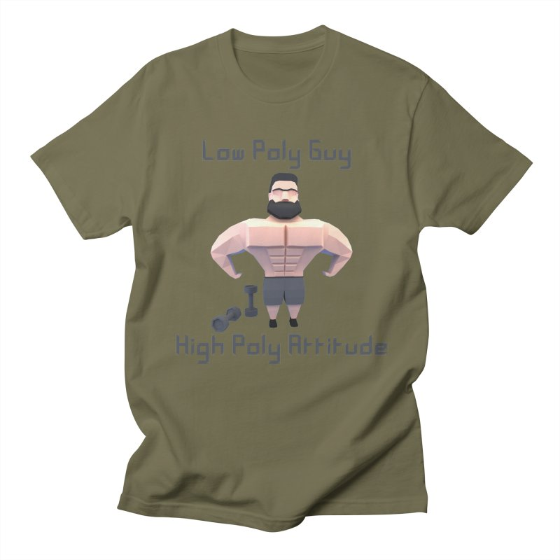 Low Poly Guy with High Poly Attitude Men's T-shirt by Me&My3D