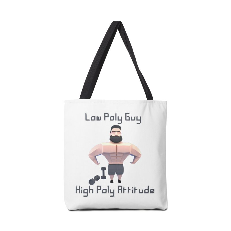 Low Poly Guy with High Poly Attitude Accessories Bag by Me&My3D