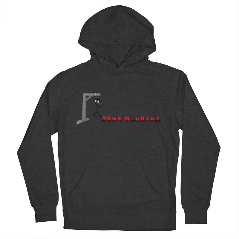 Hanger_Games Women's French Terry Pullover Hoody by Me&My3D