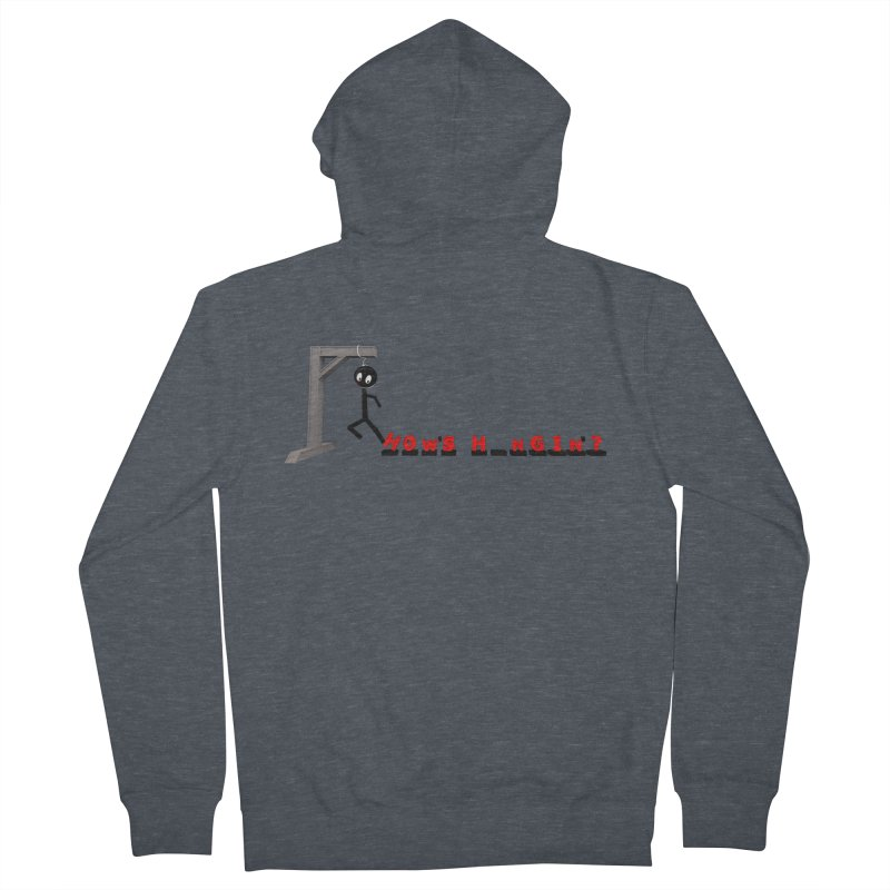 Hanger_Games Women's French Terry Zip-Up Hoody by Me&My3D