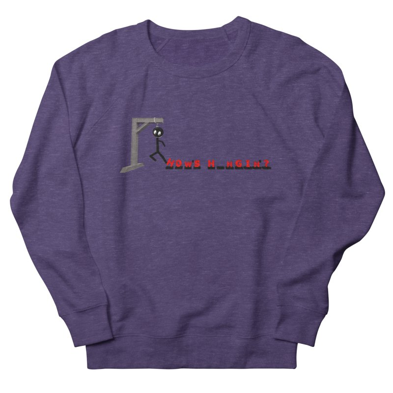 Hanger_Games Men's French Terry Sweatshirt by Me&My3D