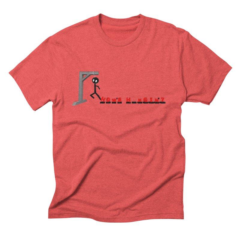 Hanger_Games Men's Triblend T-Shirt by Me&My3D