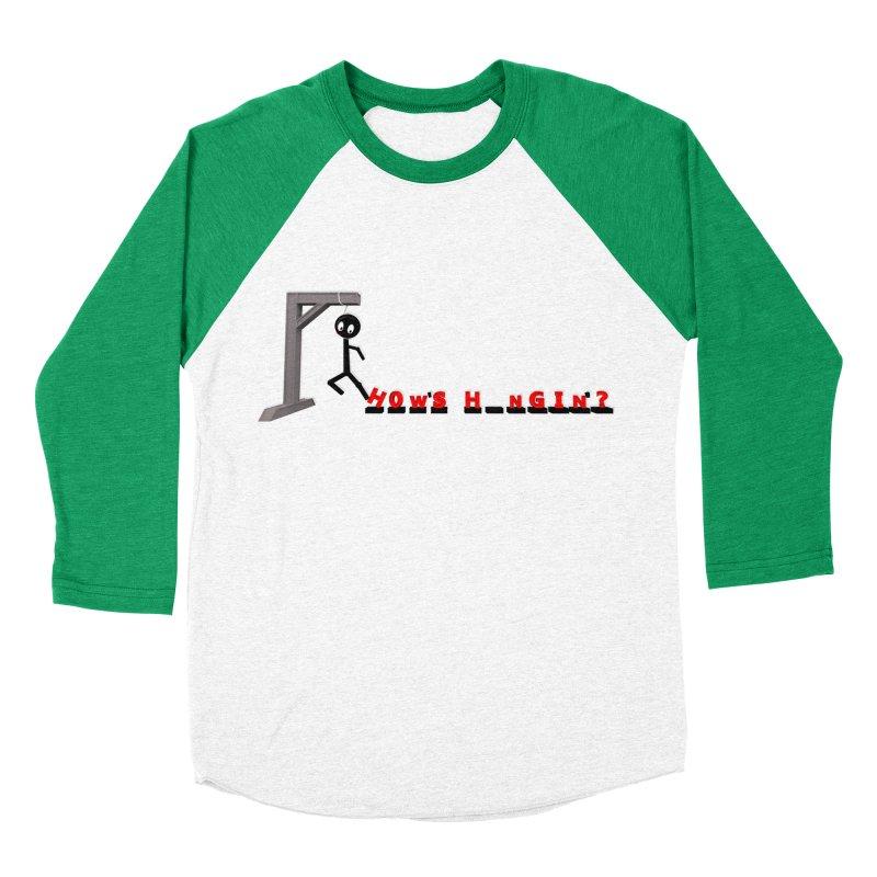 Hanger_Games Women's Baseball Triblend Longsleeve T-Shirt by Me&My3D
