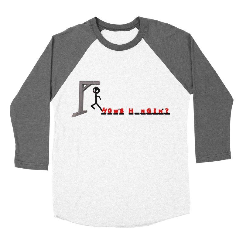 Hanger_Games Men's Baseball Triblend Longsleeve T-Shirt by Me&My3D