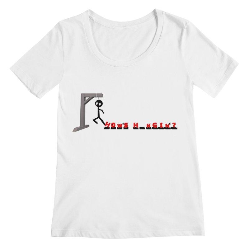 Hanger_Games Women's Regular Scoop Neck by Me&My3D