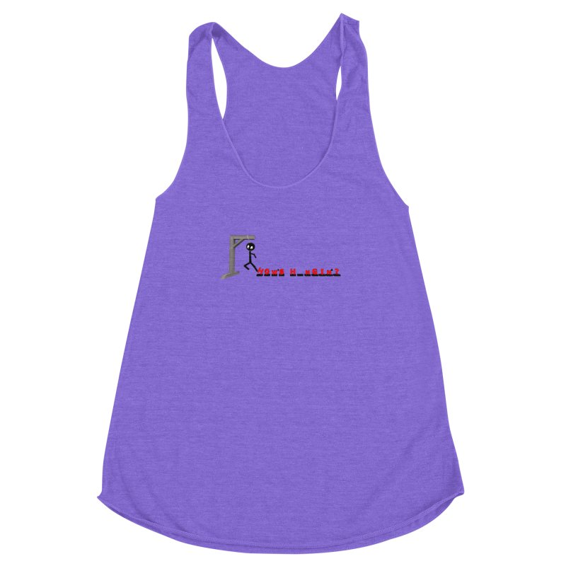 Hanger_Games Women's Racerback Triblend Tank by Me&My3D