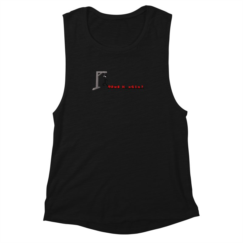 Hanger_Games Women's Muscle Tank by Me&My3D