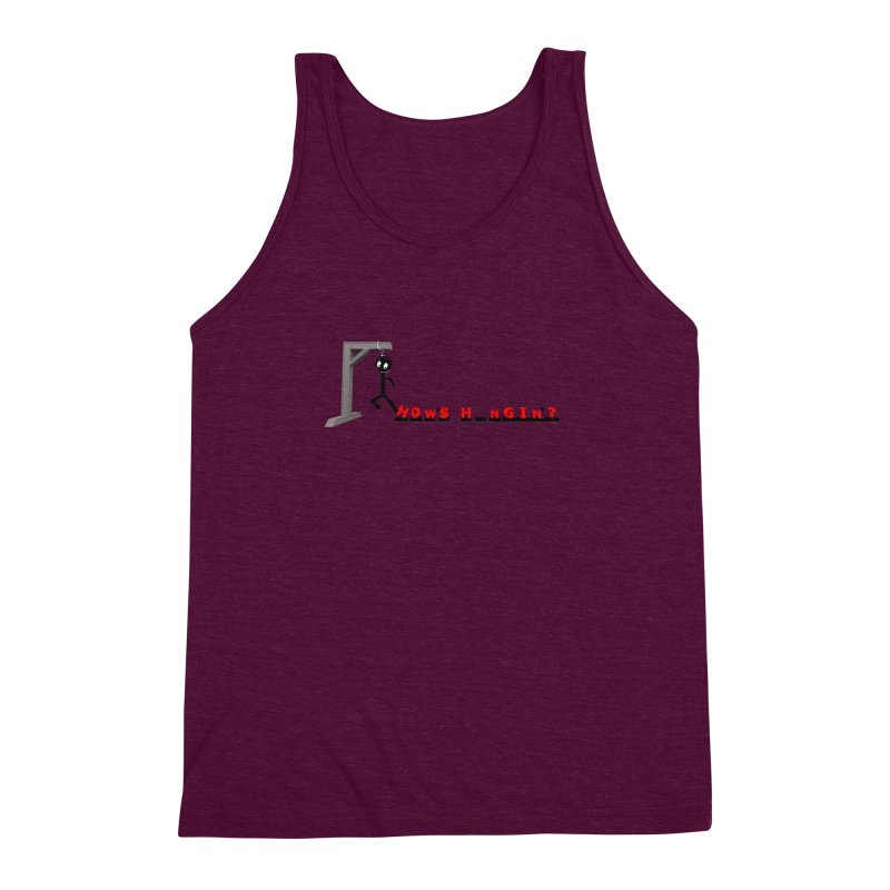 Hanger_Games Men's Triblend Tank by Me&My3D