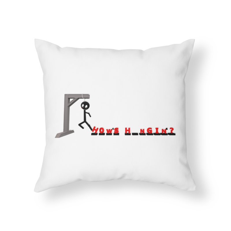 Hanger_Games Home Throw Pillow by Me&My3D