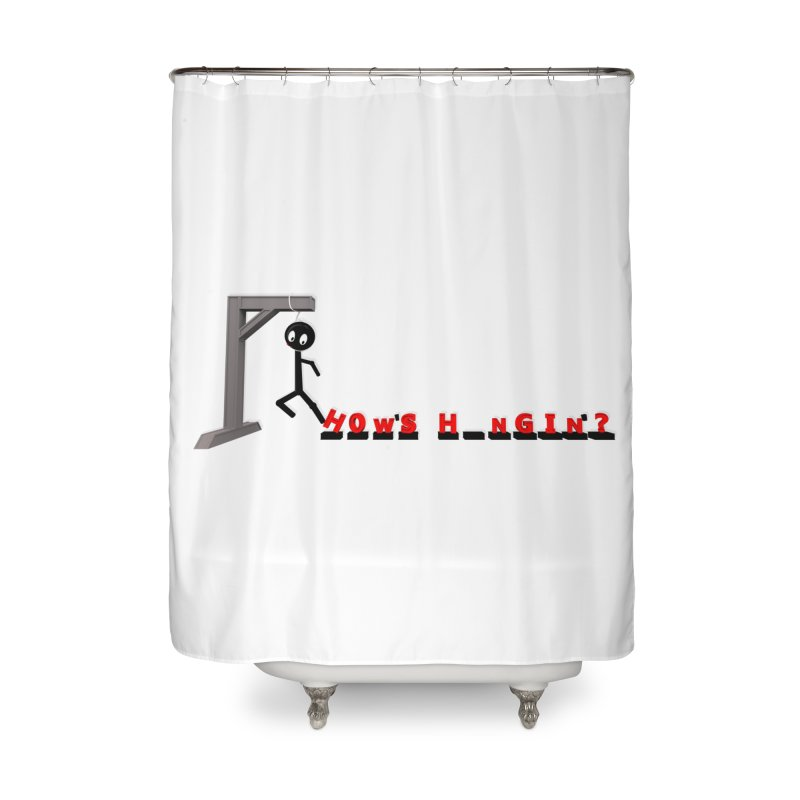 Hanger_Games Home Shower Curtain by Me&My3D