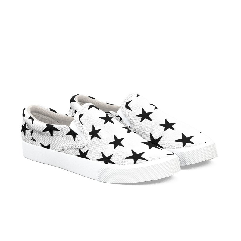 Star Pattern White Women's Shoes by Me And The Moon Artist Shop
