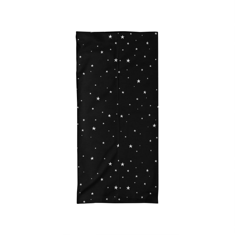 Tiny Stars Black Accessories Neck Gaiter by Me And The Moon Artist Shop