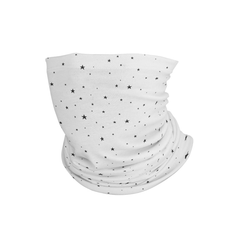 Tiny Stars White Accessories Neck Gaiter by Me And The Moon Artist Shop