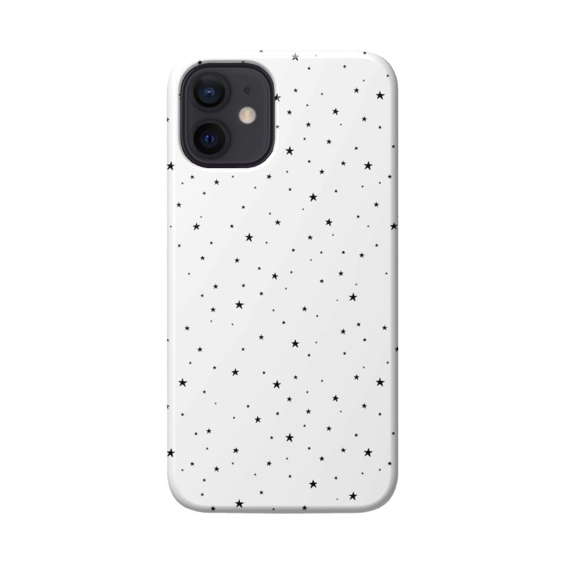 Tiny Stars White Accessories Phone Case by Me And The Moon Artist Shop