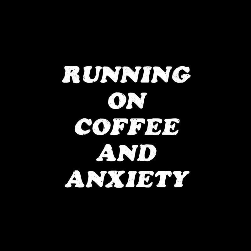 Coffee And Anxiety Accessories Face Mask by Me And The Moon Artist Shop