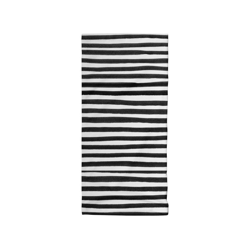 Messy Stripes Accessories Neck Gaiter by Me And The Moon Artist Shop