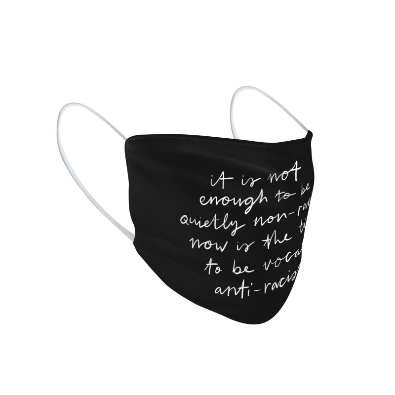 Anti-Racist Accessories Face Mask by Me And The Moon | Artist Shop