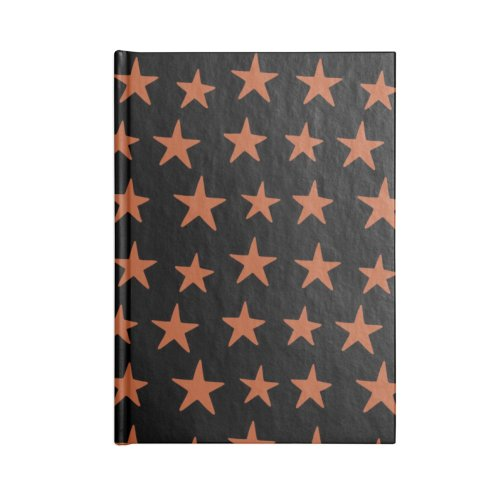 image for Star Pattern Orange & Black
