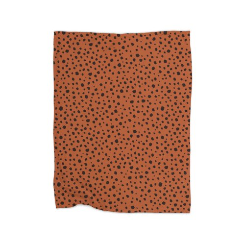 image for Animal Print Spots Burnt Orange