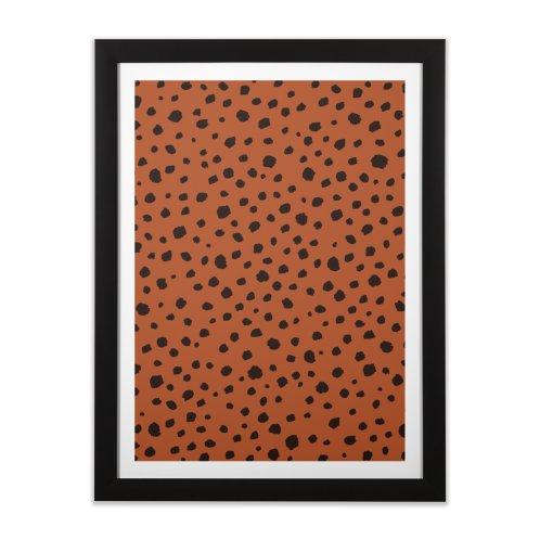 image for Animal Print Spots Burnt Orange
