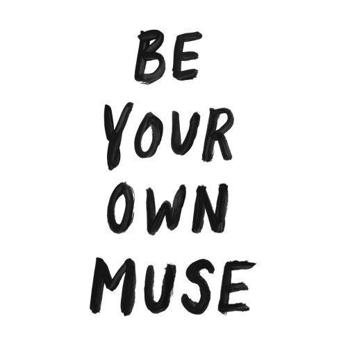 Design for Be Your Own Muse