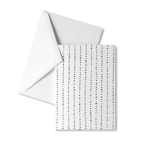 image for Dotted Lines Black On White