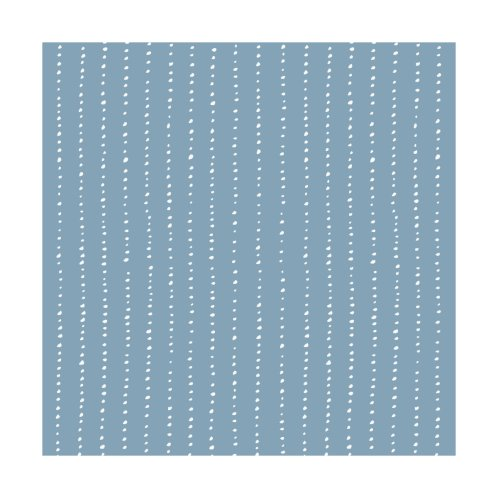 Design for Dotted Lines White On Soft Blue