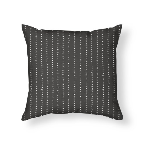 image for Dotted Lines White On Dark Grey