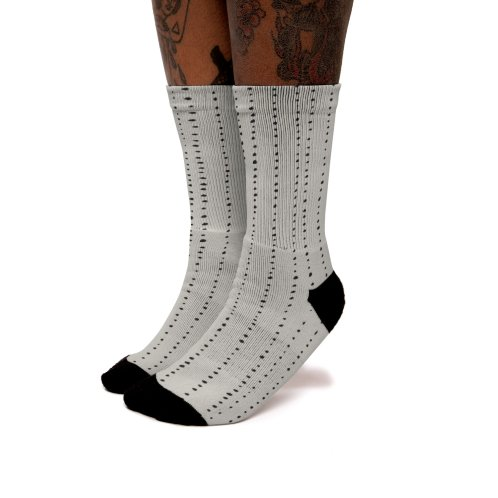 image for Dotted Lines Black On Beige