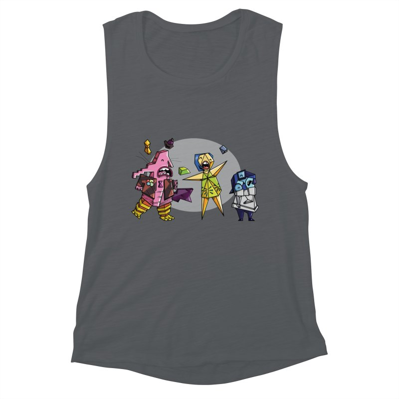 Abstract Thought Women's Muscle Tank by mebzart's Artist Shop